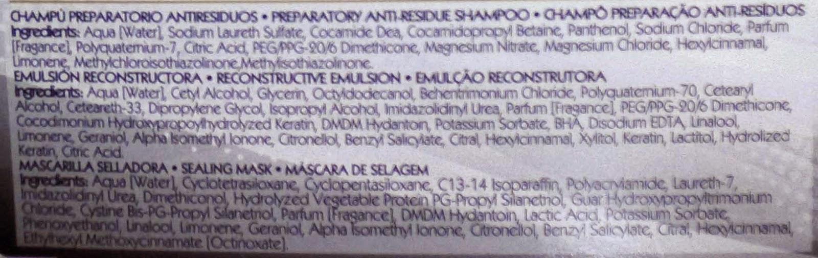 botox capilar maurens ingredientes