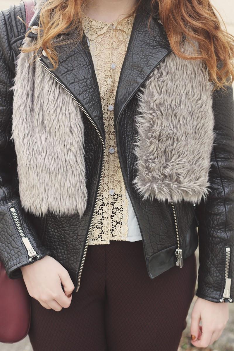 the kooples ladies leather jacket