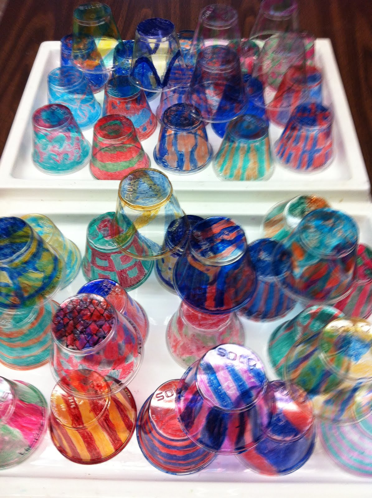 Alexis Anne 5th Grade Dale Chihuly Installation