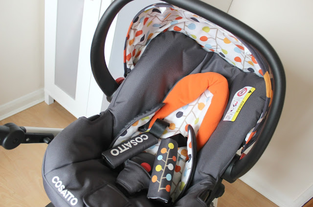 British designed Cosatto Fable Car Seat
