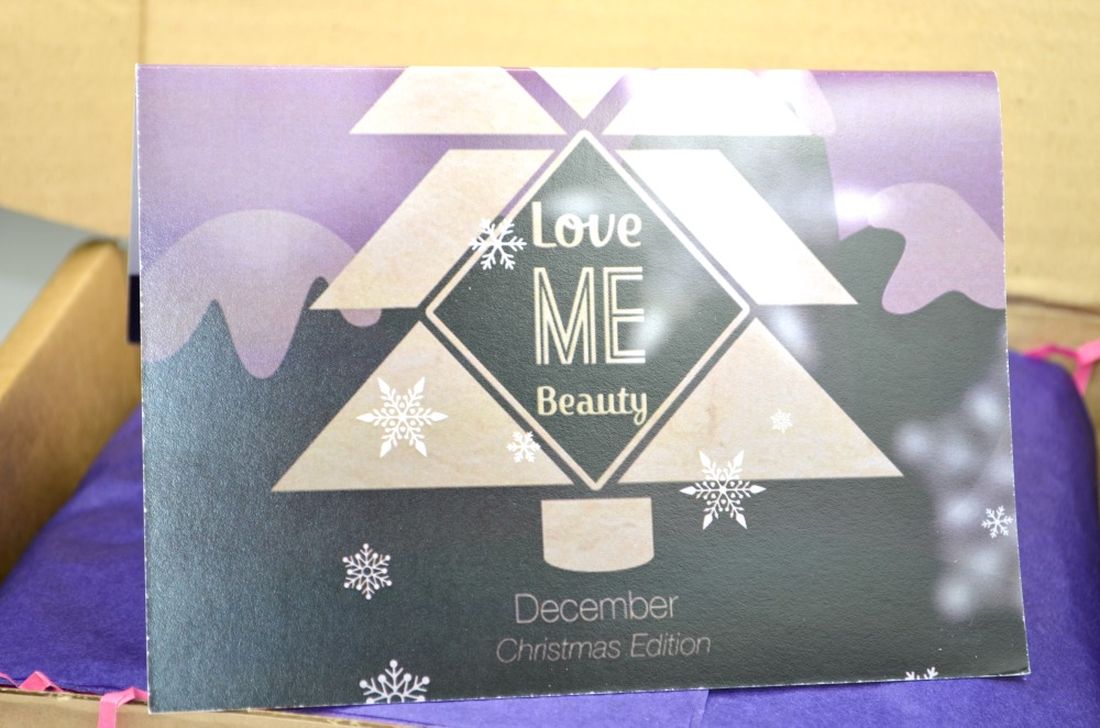 Love Me Beauty | December 2013 Contents + First Impressions