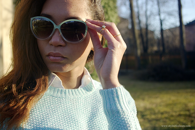 How to style a Mint Jumper