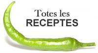Totes les receptes