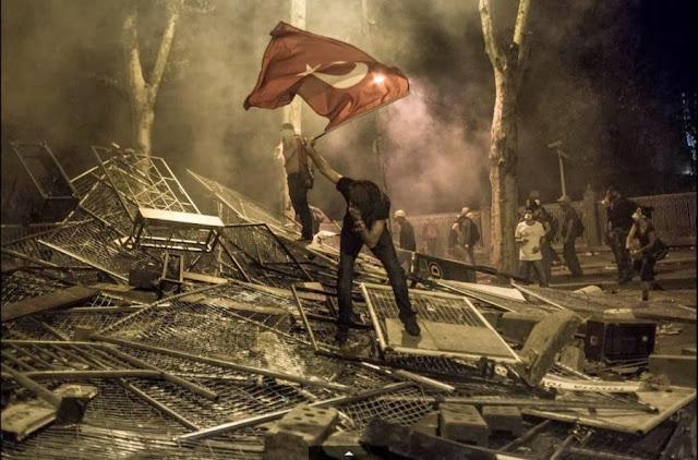 Июньские протесты в Стамбуле