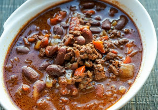 Bison and Chipotle Chili