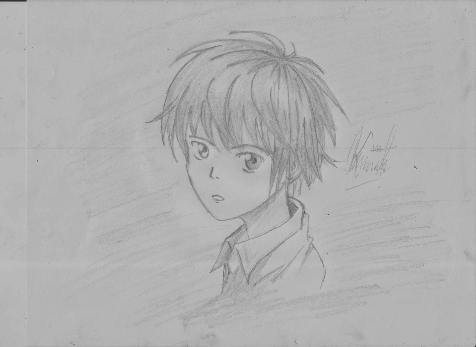 Sekian langkah langkah dalam menggambar manga anime boy semoga bermanfaat