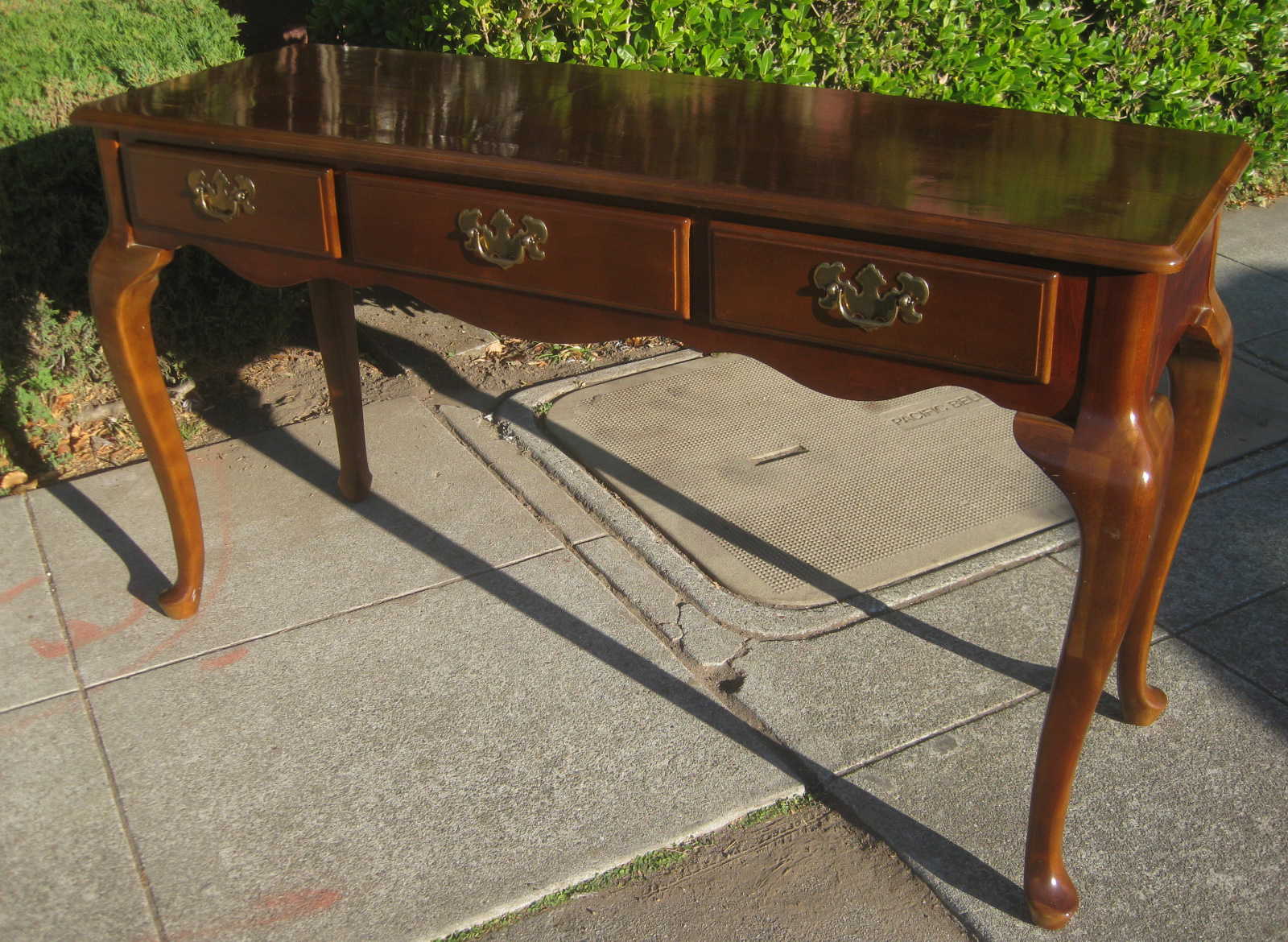 Uhuru furniture collectibles sold console table 70 - Table console extensible solde ...