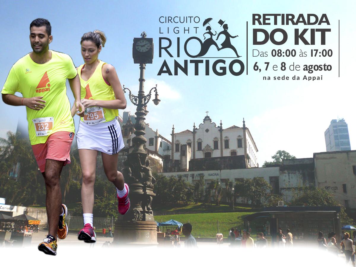 Circuito Rio Antigo : Retirada dos kits u2013 rio antigo u2013 etapa largo da carioca
