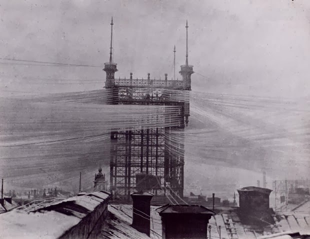 """Telephone Tower"". Стокгольм. 1890"