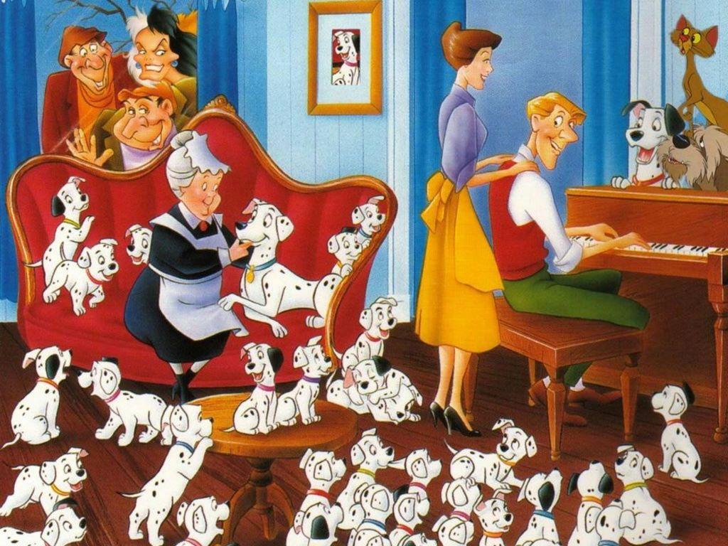 Wallpaper db 101 dalmatians - Mes parrain son magic ...
