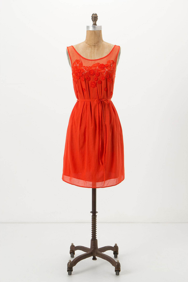 anthropologie sangeet dress