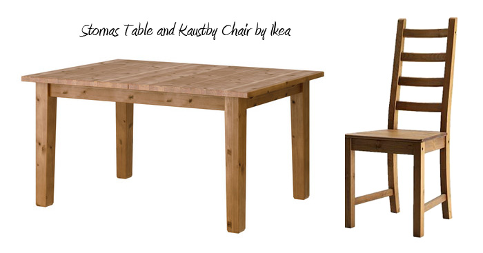 Bought stornas table by ikea bought by birdette for Ikea stornas table