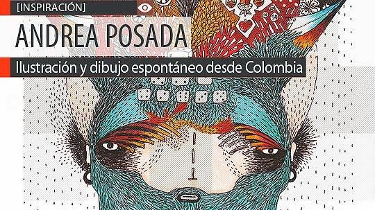 Ilustración y dibujo espontáneo de ANDREA POSADA
