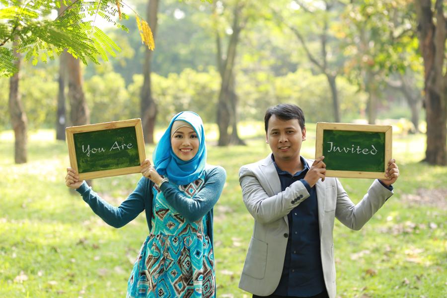 Konsep Prewedding Islami