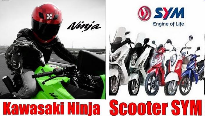 30* Skuter Motor Sanyang Motor (SYM) title=
