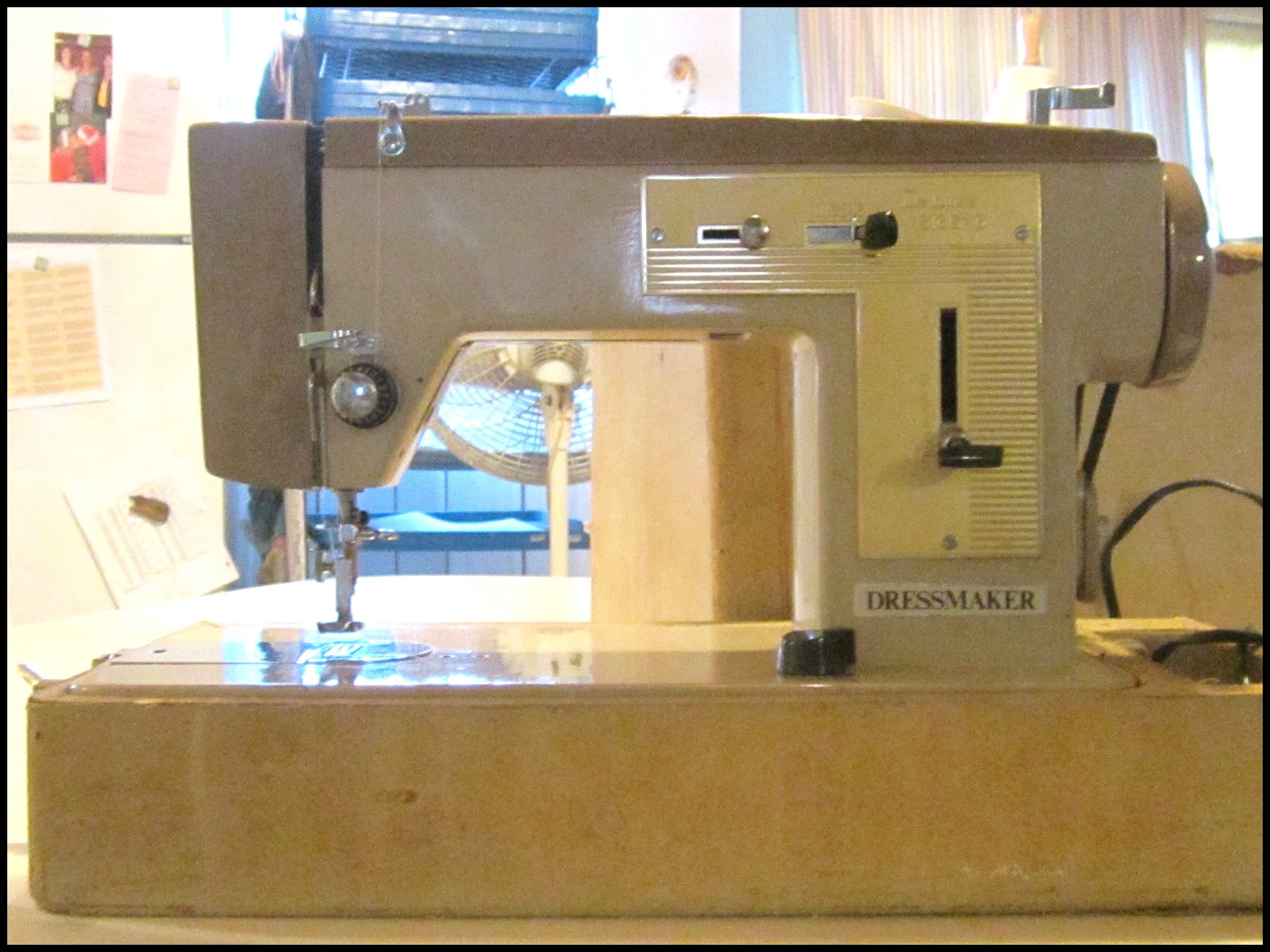 vintage dressmaker sewing machine