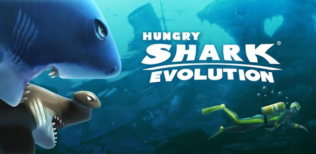 Hungry Shark Evolution 1.7.4 MOD APK+DATA(Unlimited Gold Coins)