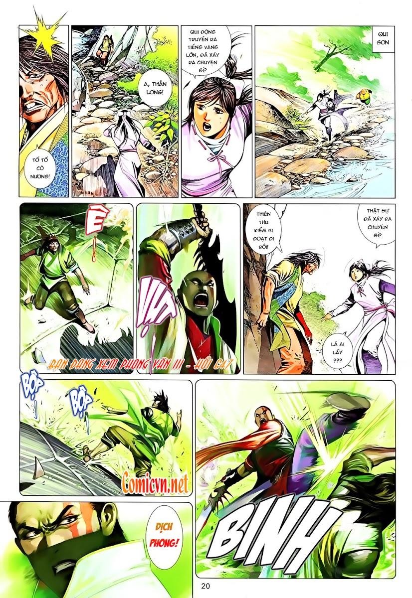 Phong Vân chap 647 Trang 20 - Mangak.info