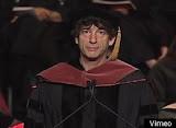 Neil Gaiman s'adresse aux étudiants en art