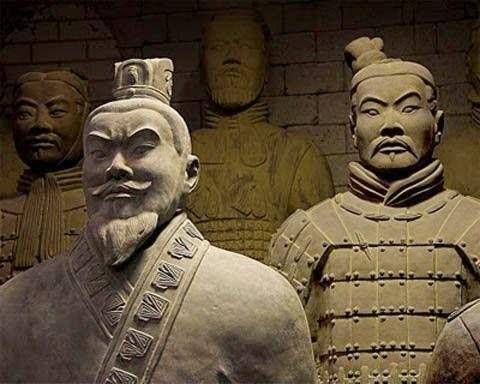 Xác ướp lăng mộ Tần Vương