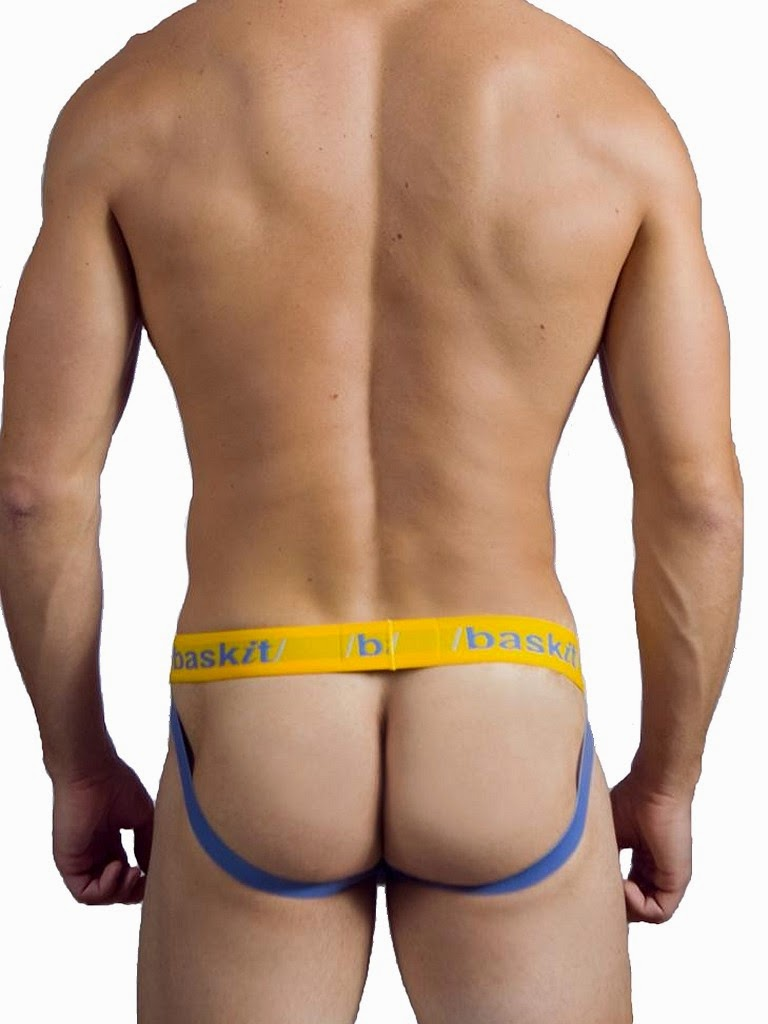 baskit Contrasts Jock Riviera Blue/Yellow Back Gayrado
