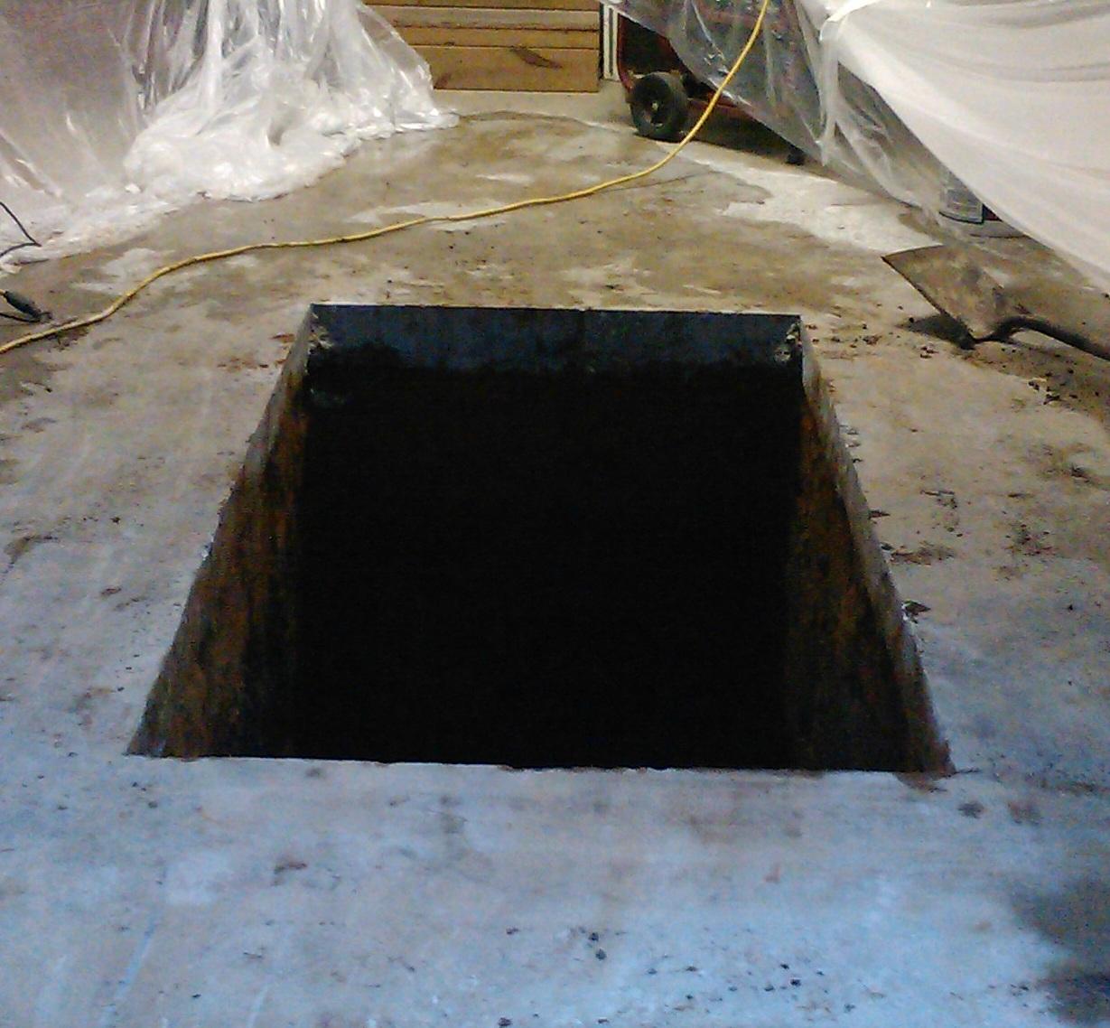 Garage Storm Shelters : Danny s notes garage storm shelter