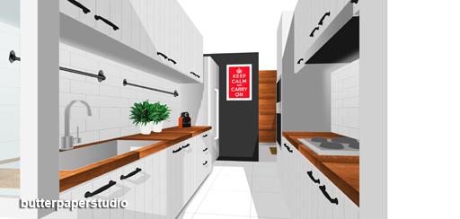 Butterpaperstudio reno yishun sneak peeks for Country style kitchen singapore