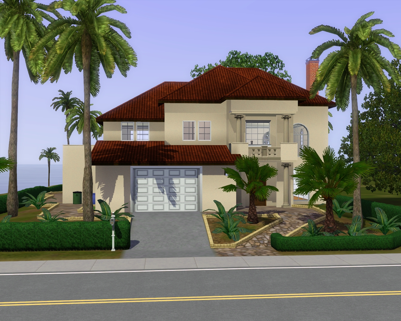 Summer 39 s little sims 3 garden starlight shores the sims for Best house designs for the sims 3