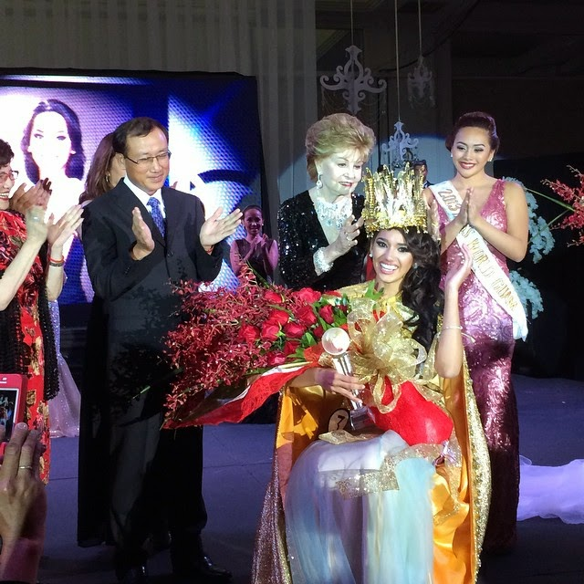 Miss World Guam 2014 winner Chanel Victoria Cruz Jarrett