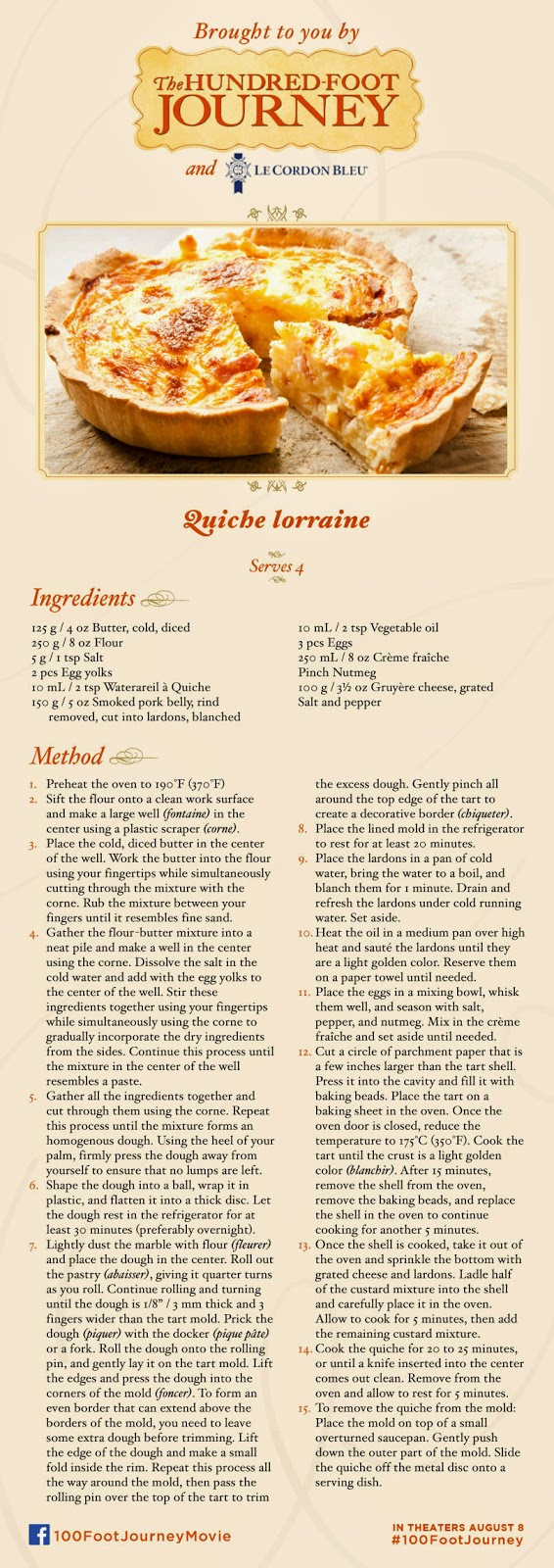 #FoodieFriday Quiche Lorraine Recipe