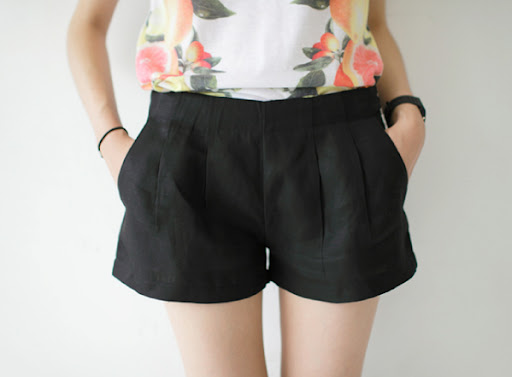smoky alica korean fashion shorts