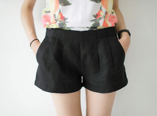 smoky alica korean fashion shorts