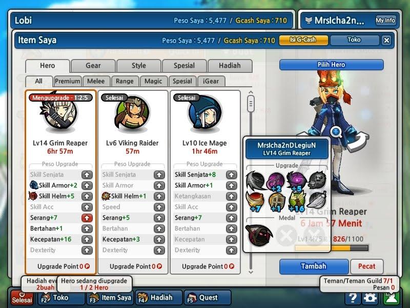 Cheat VIP Lost Saga 15 November 2014 Terbaru Unlimited Clover