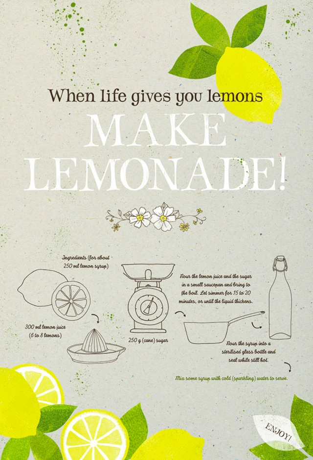 oh the lovely things diy lemonade 8 ways to pimp it