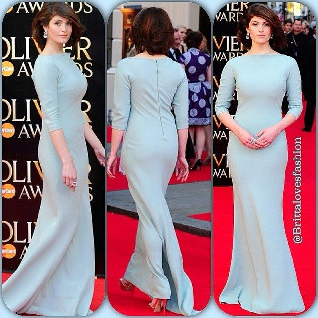 The British actress never fails to look magnificent as Gemma Arterton showed up her magnificent elegance to the Royal Opera House quest on Sunday evening,‭ ‬April‭ ‬13,‭ ‬2014.