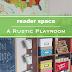 Reader Space: A Rustic Playroom