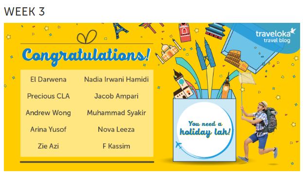Pemenang Minggu Ke-3 Contest Menulis Artikel Blog by Traveloka 2017