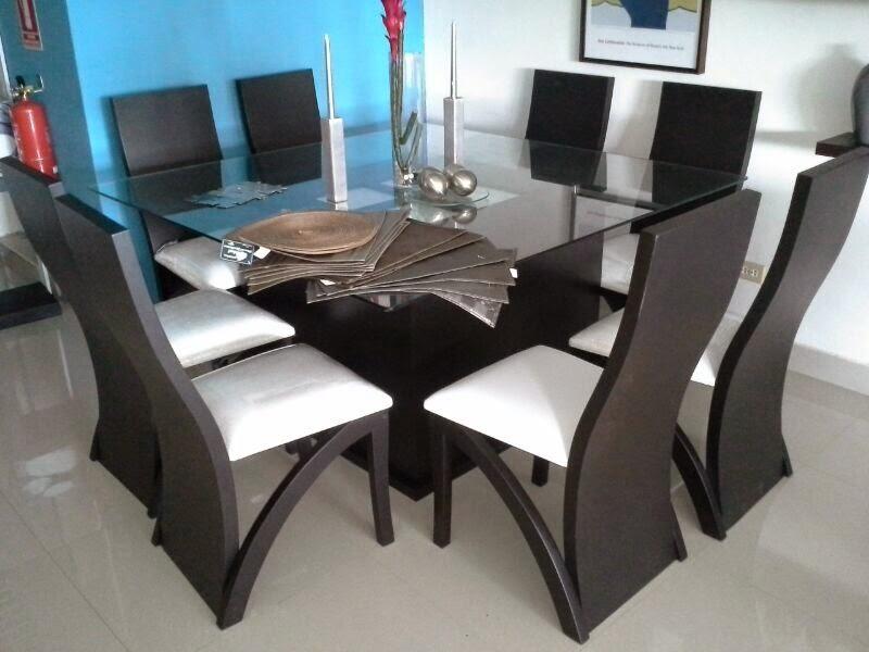 Muebles para las casas for Modelos de comedores redondos