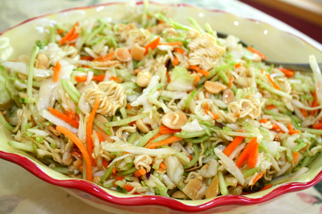 Asian salad recipe ramen noodles