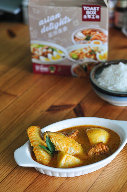 curry chicken recipe toast box review