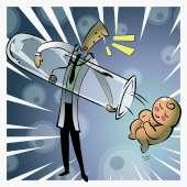 FIV, bebé proveta, fertilização in vitro