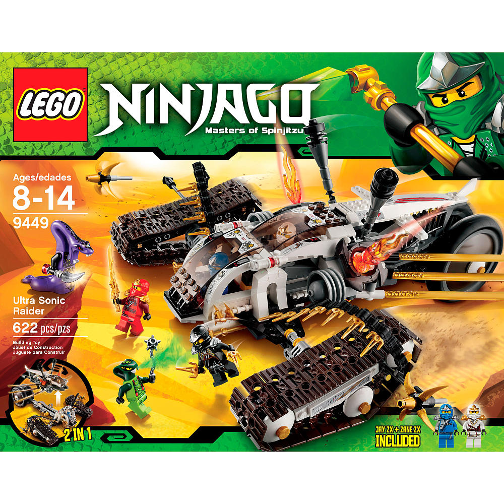 Lego Ninjago Toys : Lego gossip ultra sonic raider box art