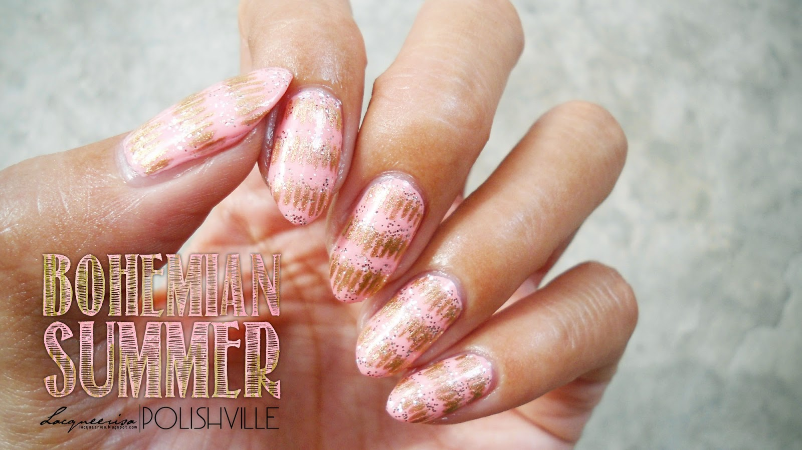LacqueerisaXPolishville: Bohemian Summer Nails