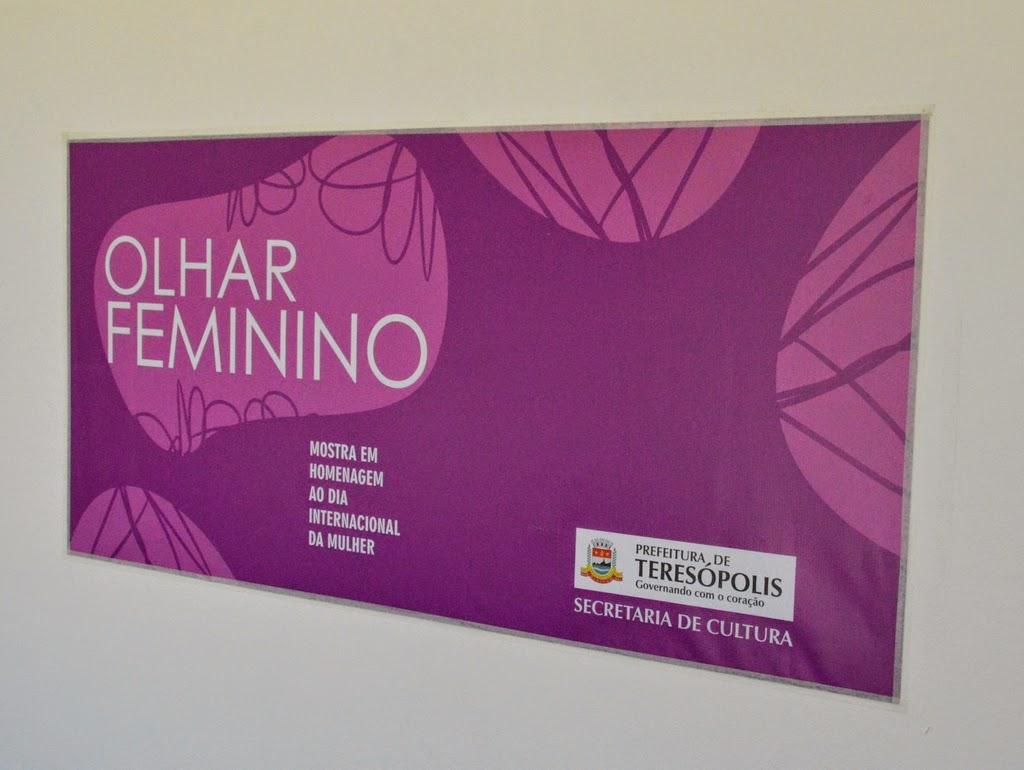 Secretaria de Cultura de Teresópolis promove exposição em homenagem às mulheres