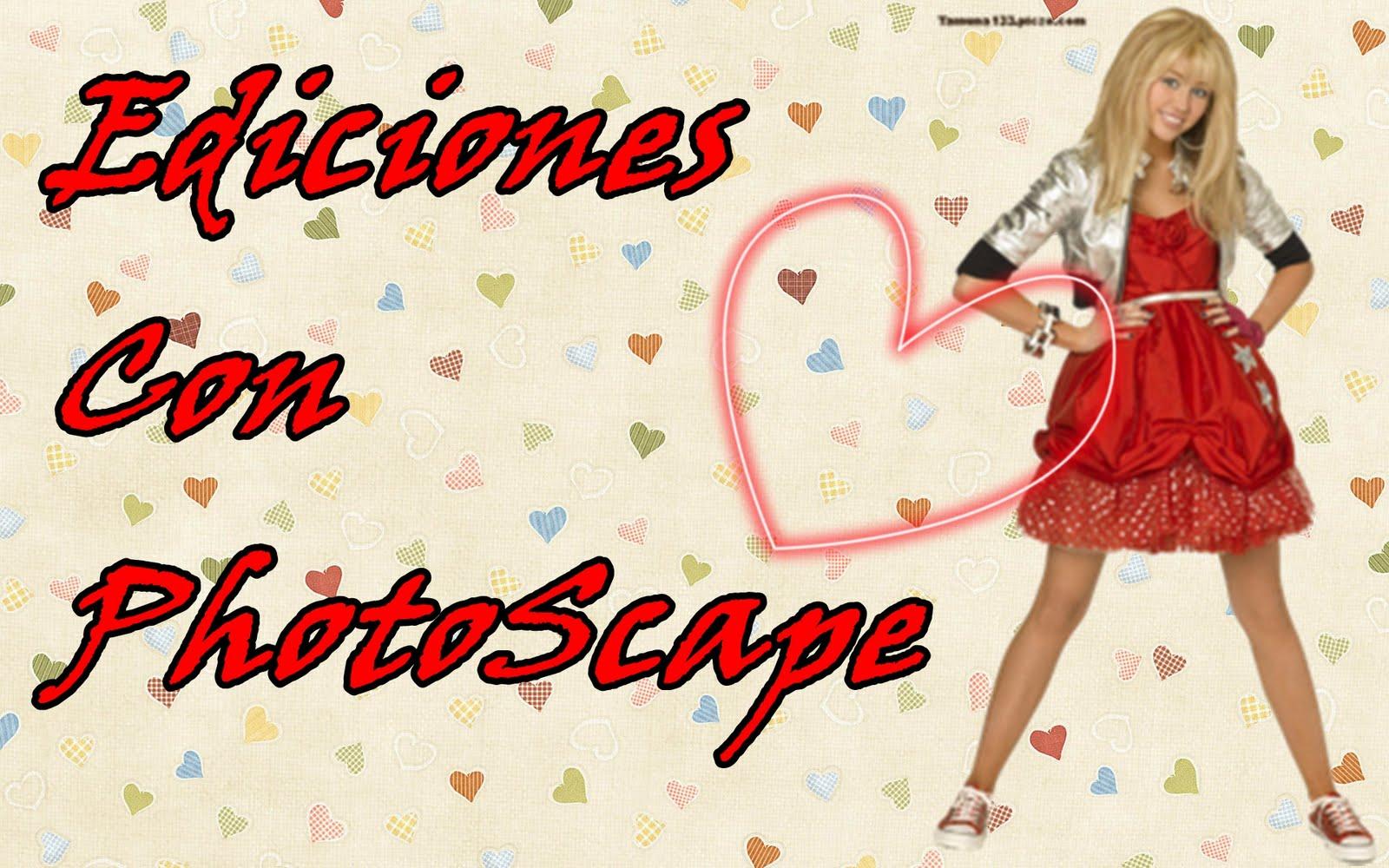 Ediciones Con PhotoScape