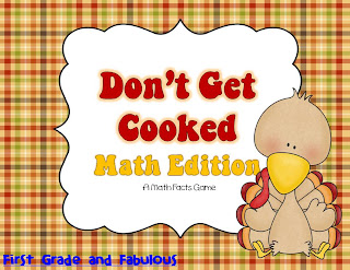 Don't Get Cooked Math Game