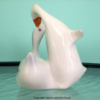 Hollohaza Vintage Ducks Figurine