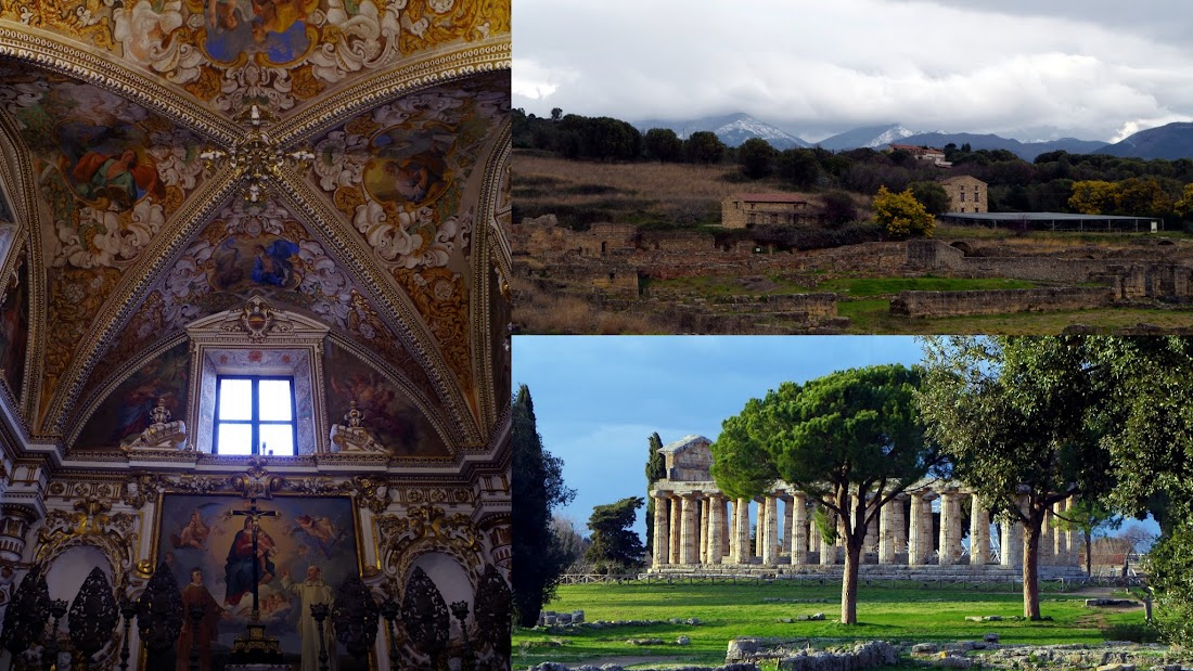 Sehenswürdigkeiten im Cilento: Kartause von Padula, Paestum und Velia