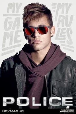 gafas Police primavera verano 2014 con Neymar Jr