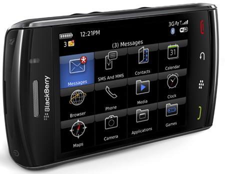 BlackBerry® Storm 2 9550™ Harga Rp.